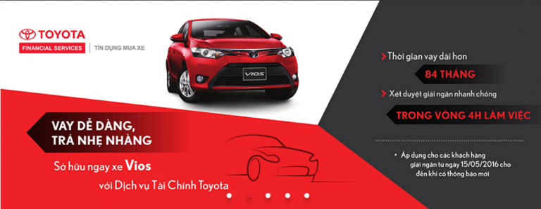 Những điều cần biết về mua xe Toyota trả góp