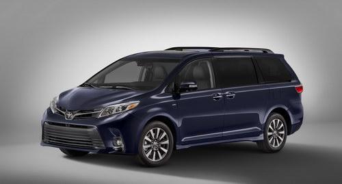 Diện mạo mới của Toyota Sienna 2018