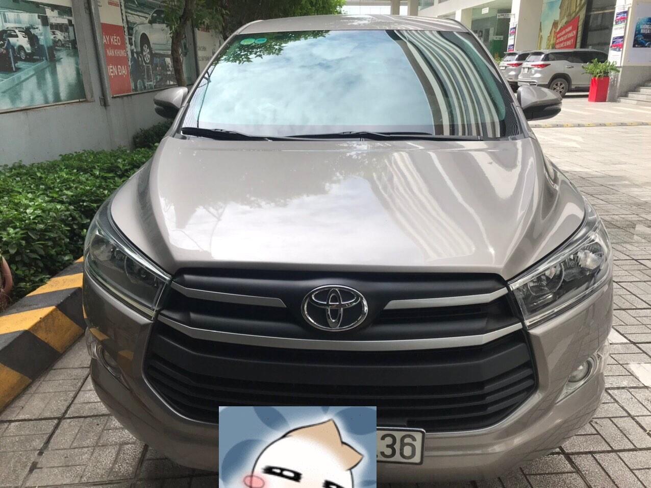 Toyota Innova 2.0E màu đồng ánh kim Odo 22k bao test hãng Toyota